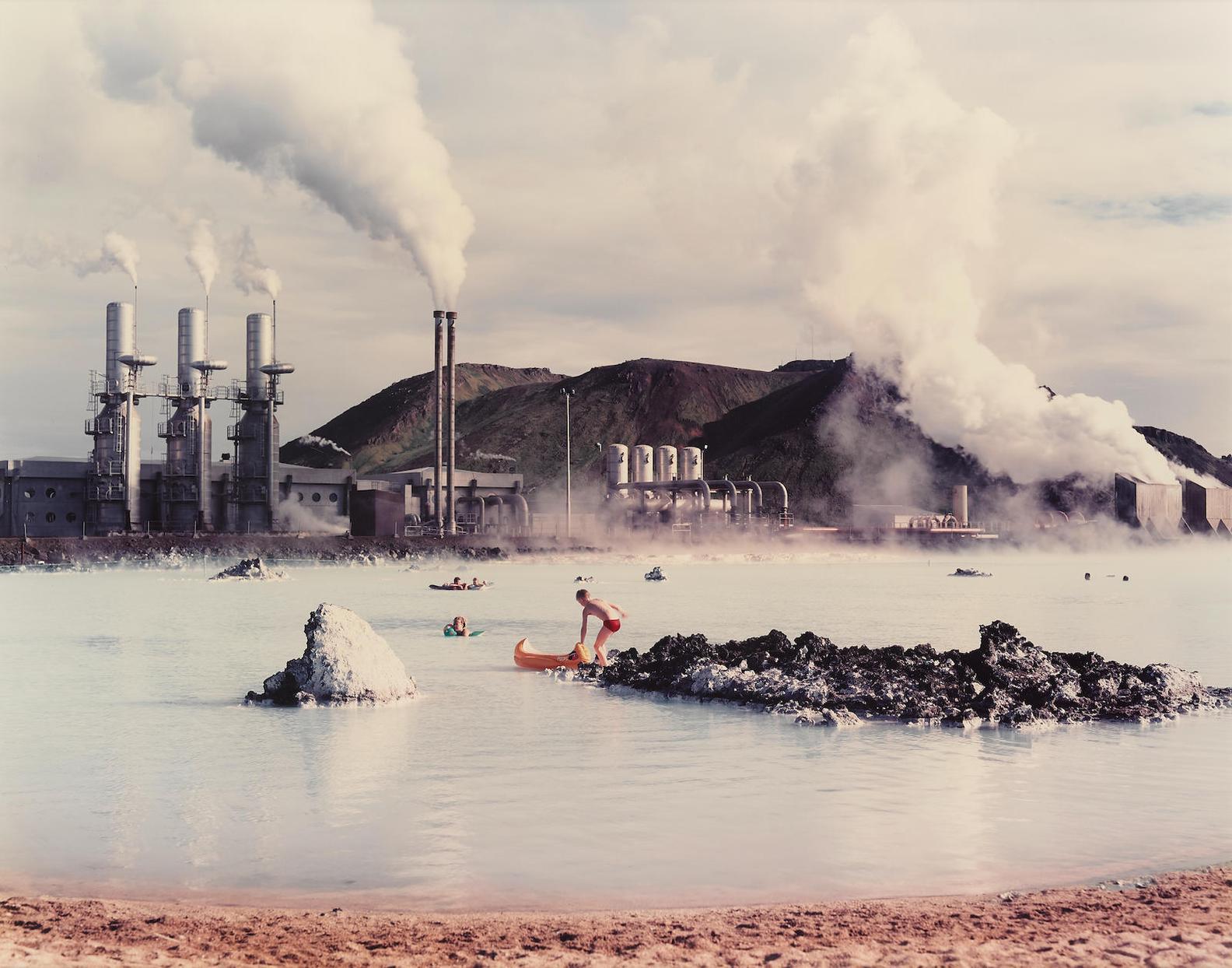 Virginia Beahan & Laura Mcphee - The Blue Lagoon, Svartsengi Goethermal Pumping Station, Iceland-1988