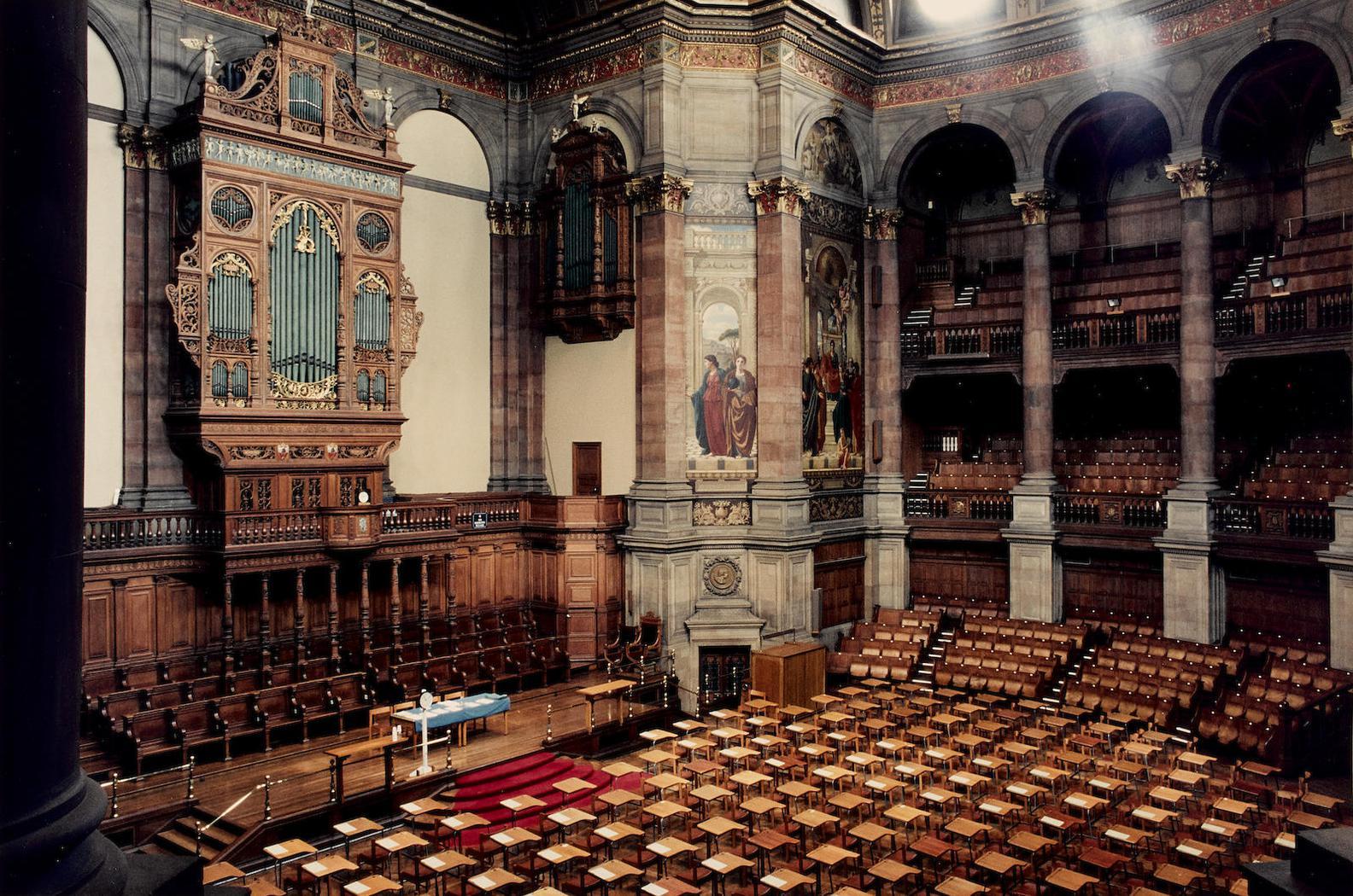 Candida Hofer-Mcewan Hall, Edinburgh-1998