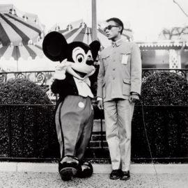 Tseng Kwong Chi-Mickey Mouse, Disneyland, California-1979
