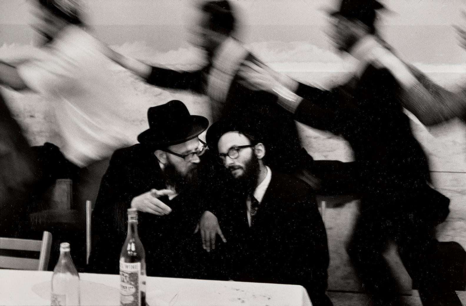 Leonard Freed-Hasidic Wedding-1954