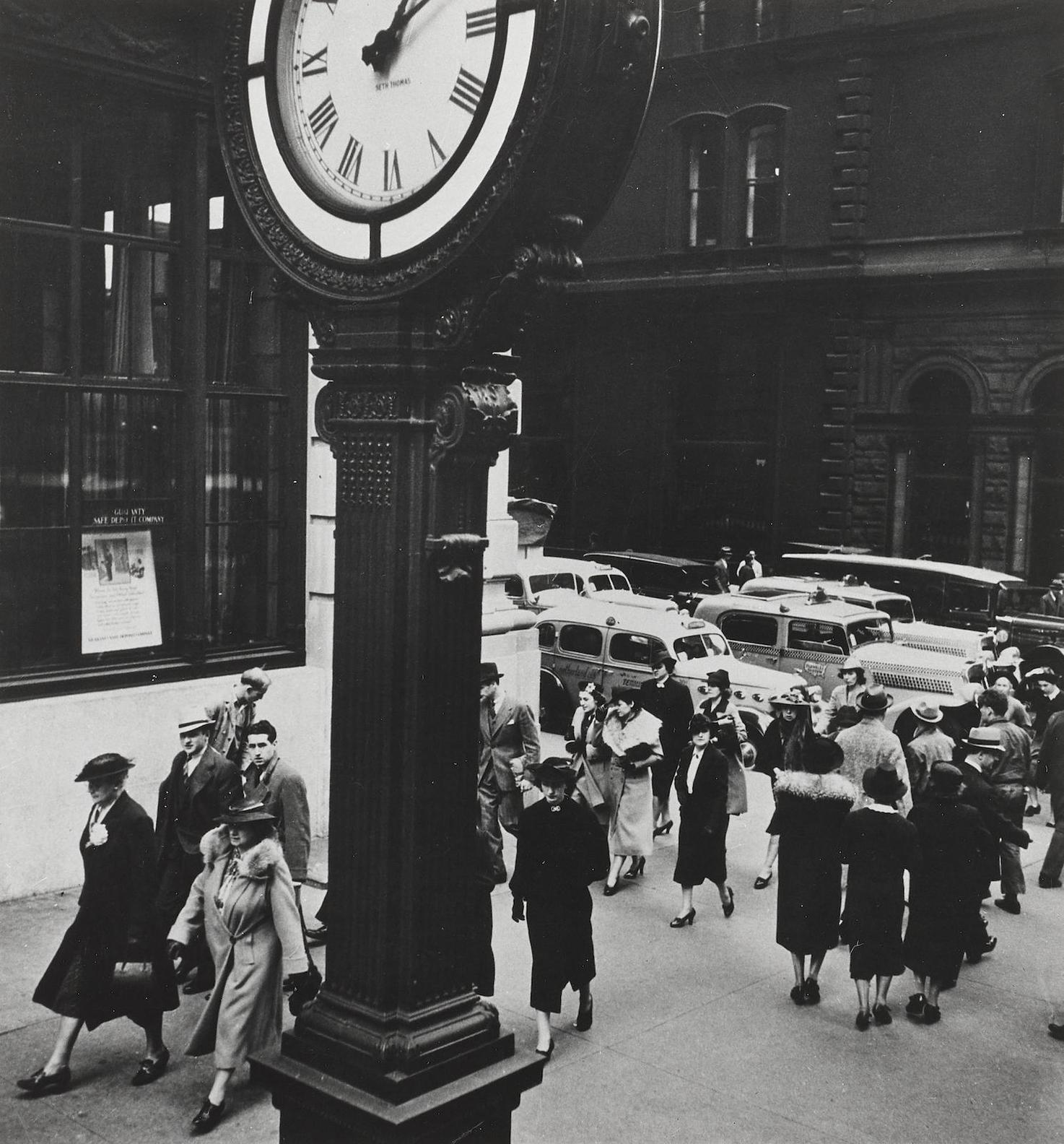 Berenice Abbott-Tempo Of The City, Fifth Avenue And 44Th Street, New York-1938