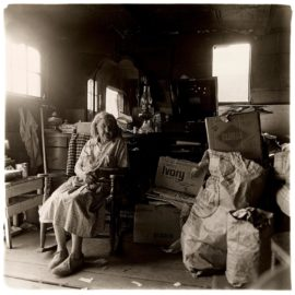 Diane Arbus-Woman In Her Rocking Chair, S.C.-1968
