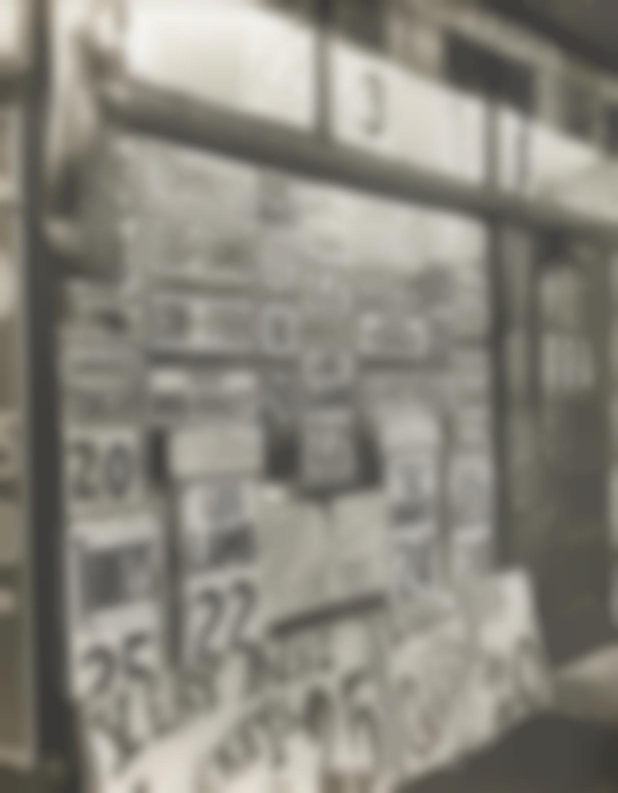 Berenice Abbott-Jacob Heymanns Butchers Shop, 345 Sixth Avenue, New York-1938