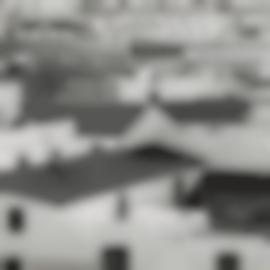 Brett Weston-Rooftops, Spain-1960