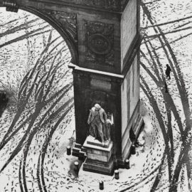 Andre Kertesz-Washington Square, New York-1966
