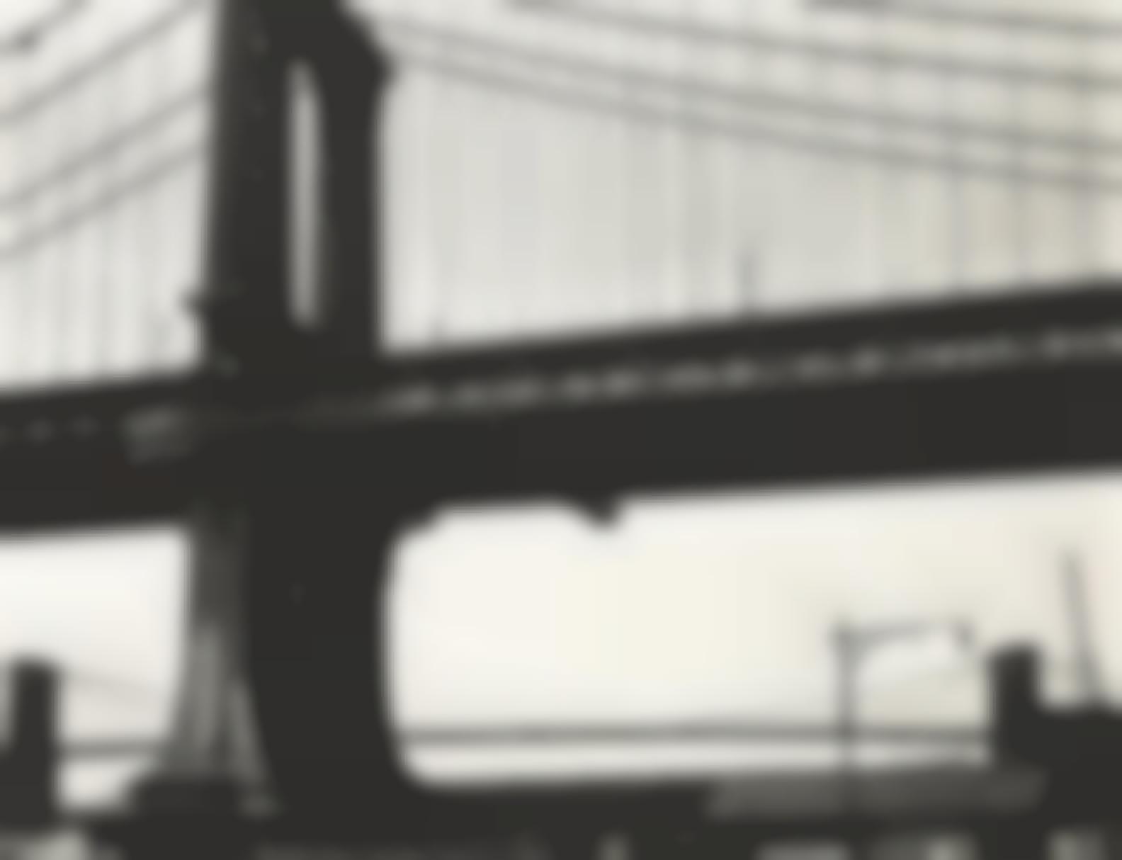 Brett Weston-Manhattan Bridge-1946