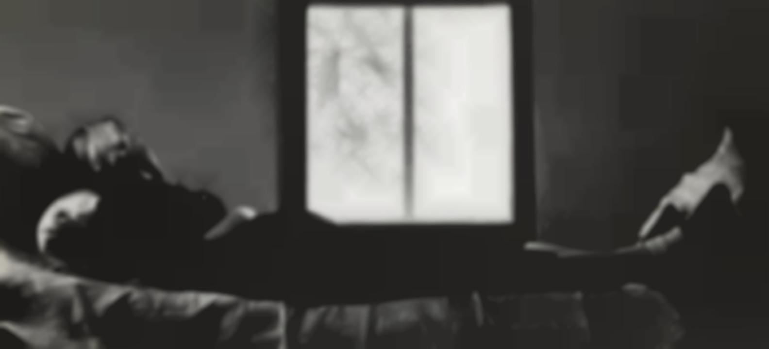 Ralph Eugene Meatyard-Lexington, Kentucky (Madelyn Pregnant)-1955