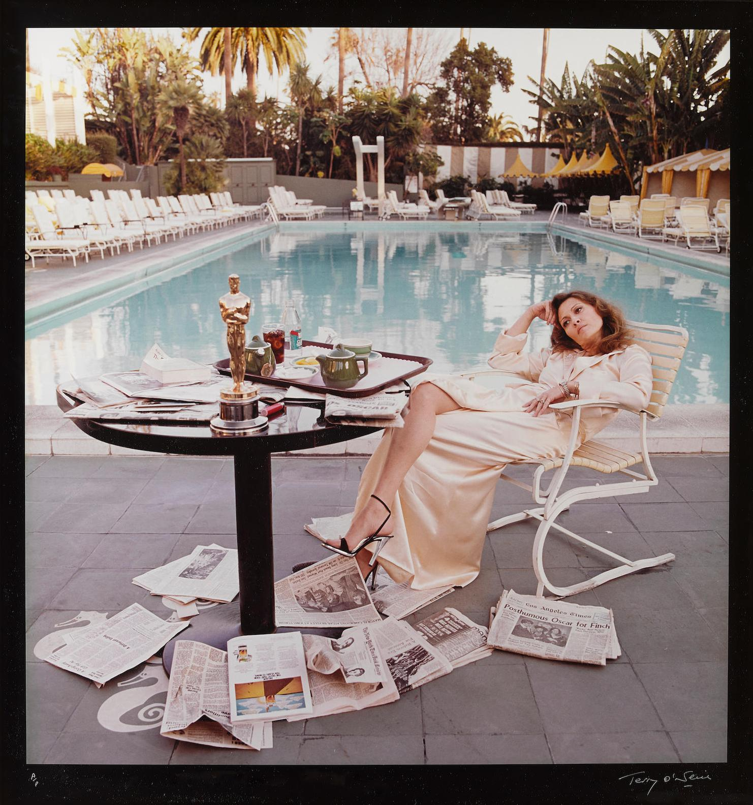 Terry O'Neill-Faye Dunaway-The Morning After-1976