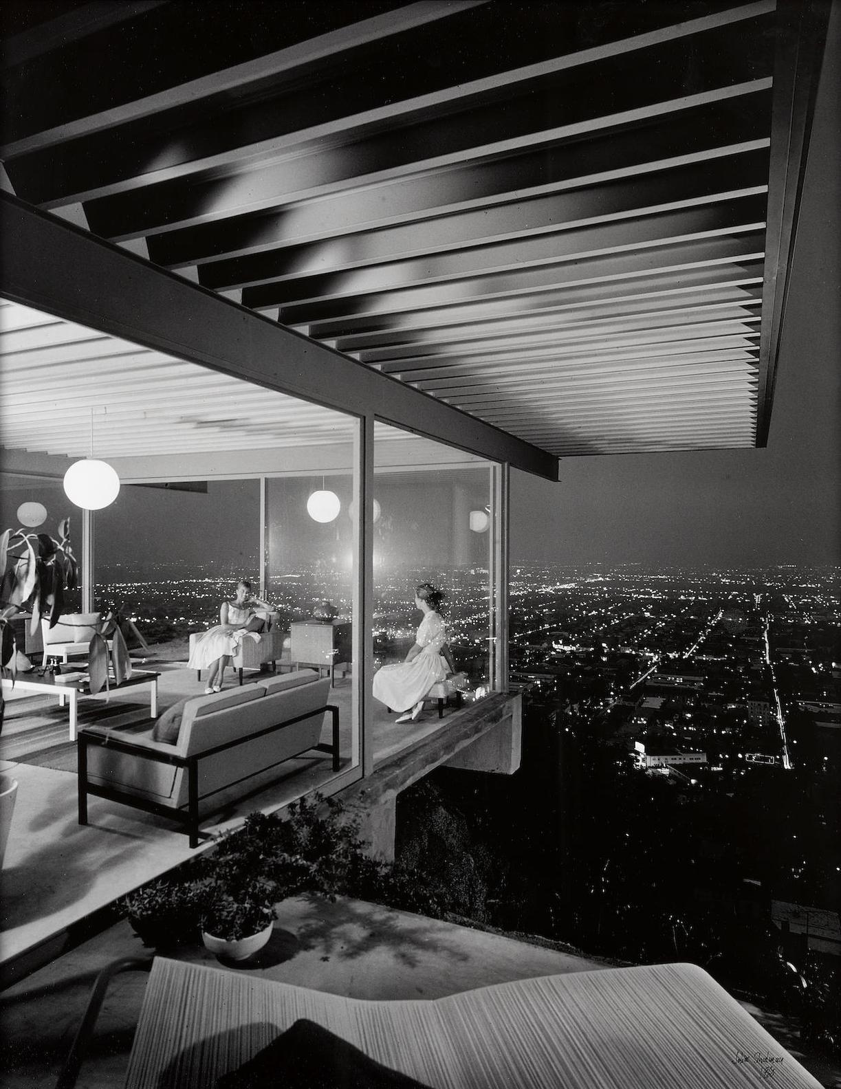 Julius Shulman-Case Study House #22, Pierre Koenig, Los Angeles, California-1960