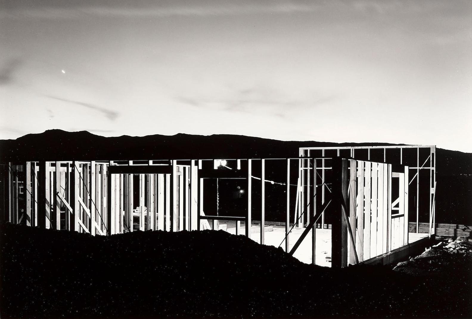 Lewis Baltz-Night Construction, Reno-1977