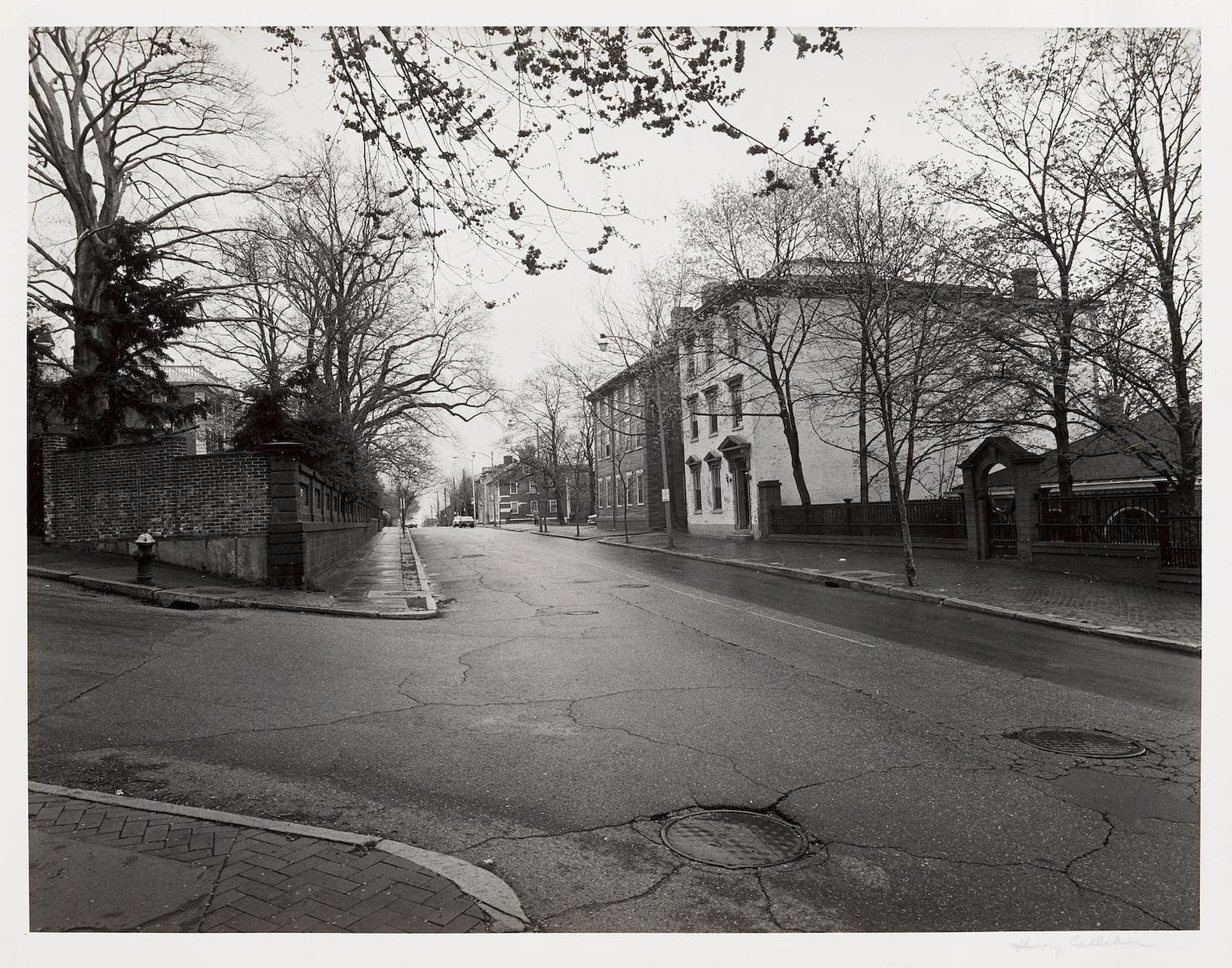 Harry Callahan-Benefit Street, Providence, Rhode Island-1970
