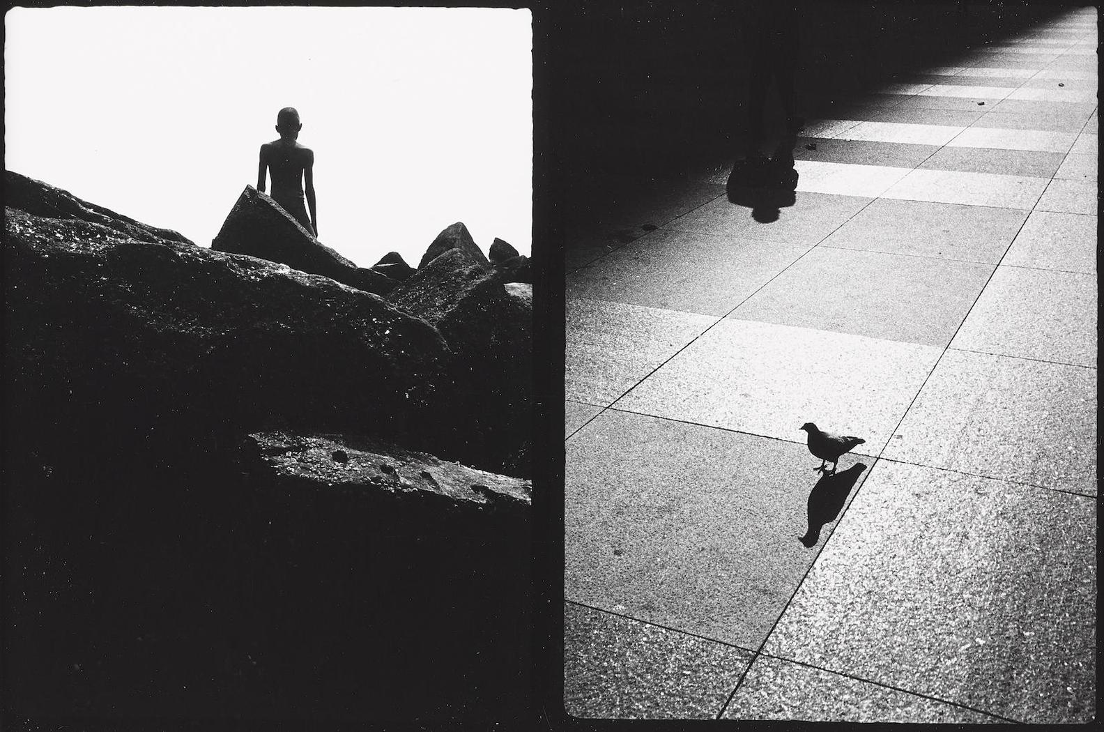 Ray Metzker-Untitled (Diptych)-1968