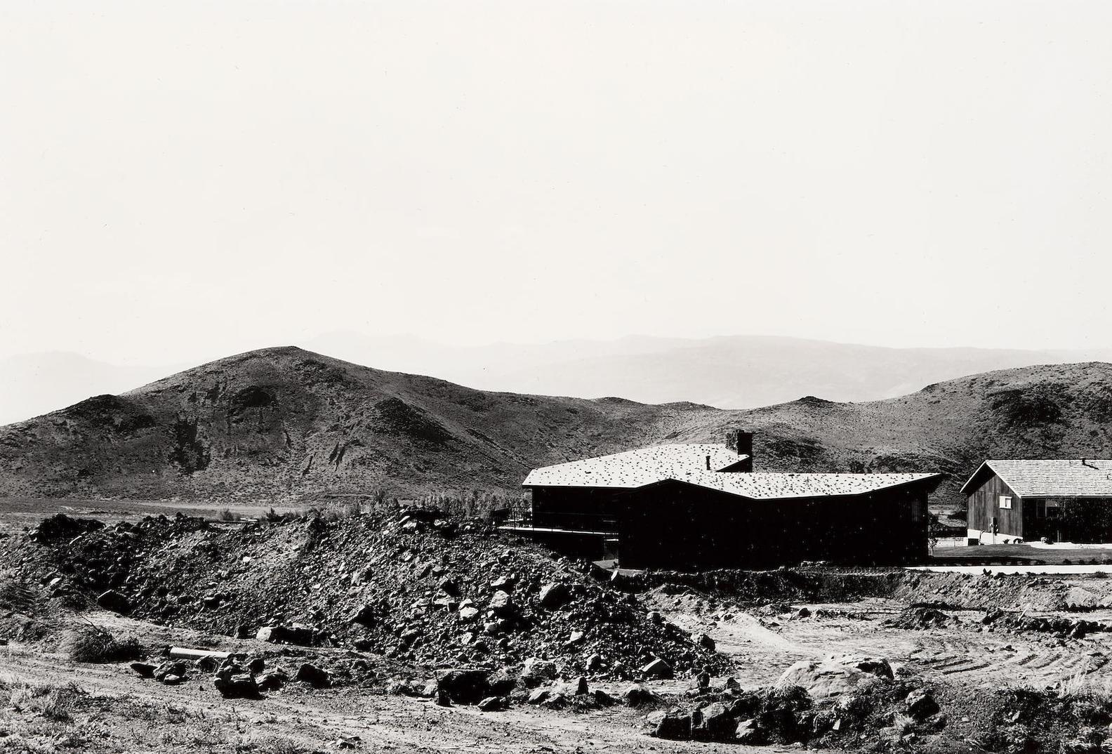 Lewis Baltz-Hidden Valley, Looking Southwest-1977
