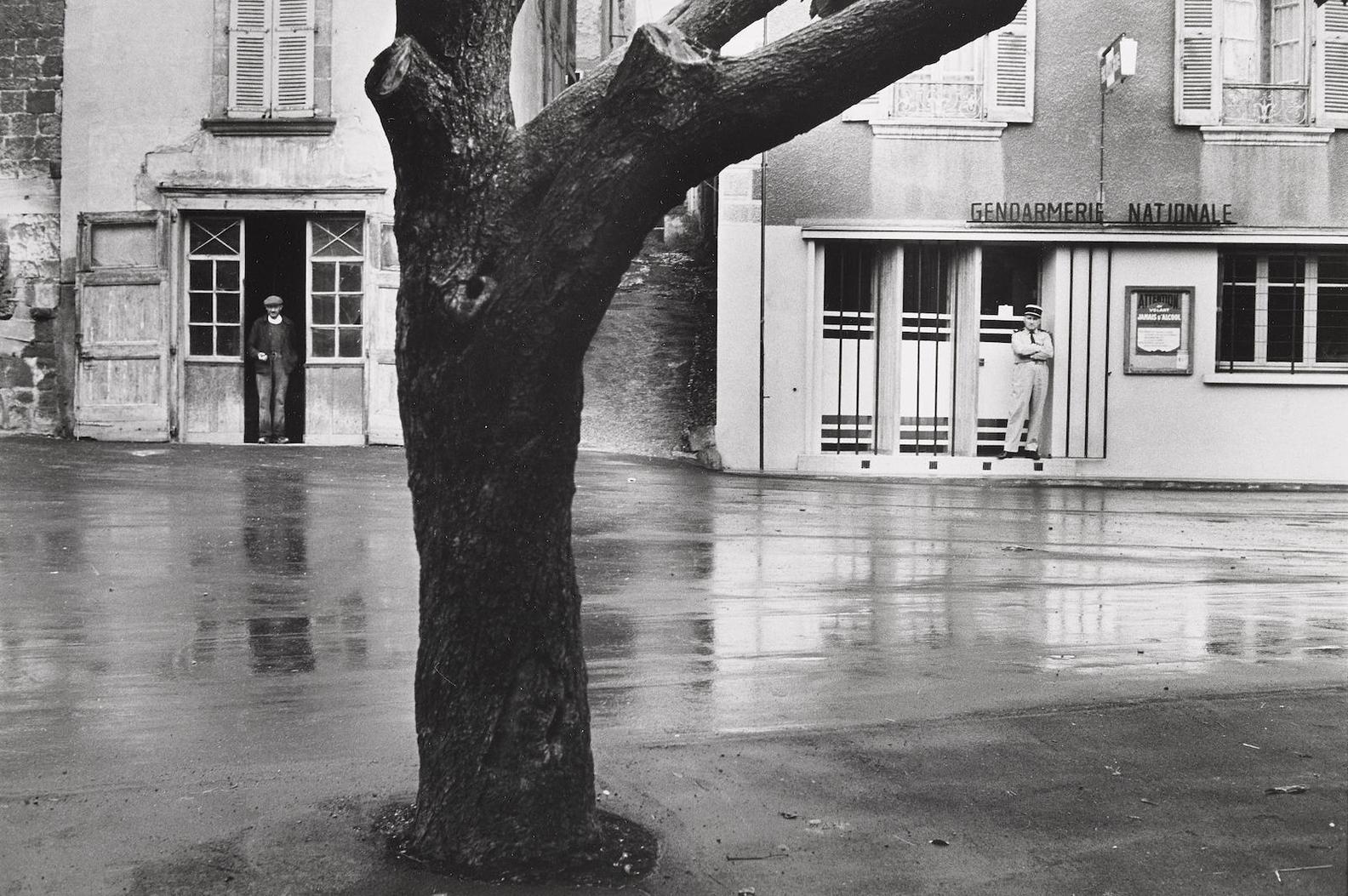 Henri Cartier-Bresson-Main Street, Marcillac-Vallon (Aveyron)-1969