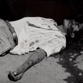Manuel Alvarez Bravo-Obrero En Huelga Assasinado (Striking Worker Assassinated)-1934