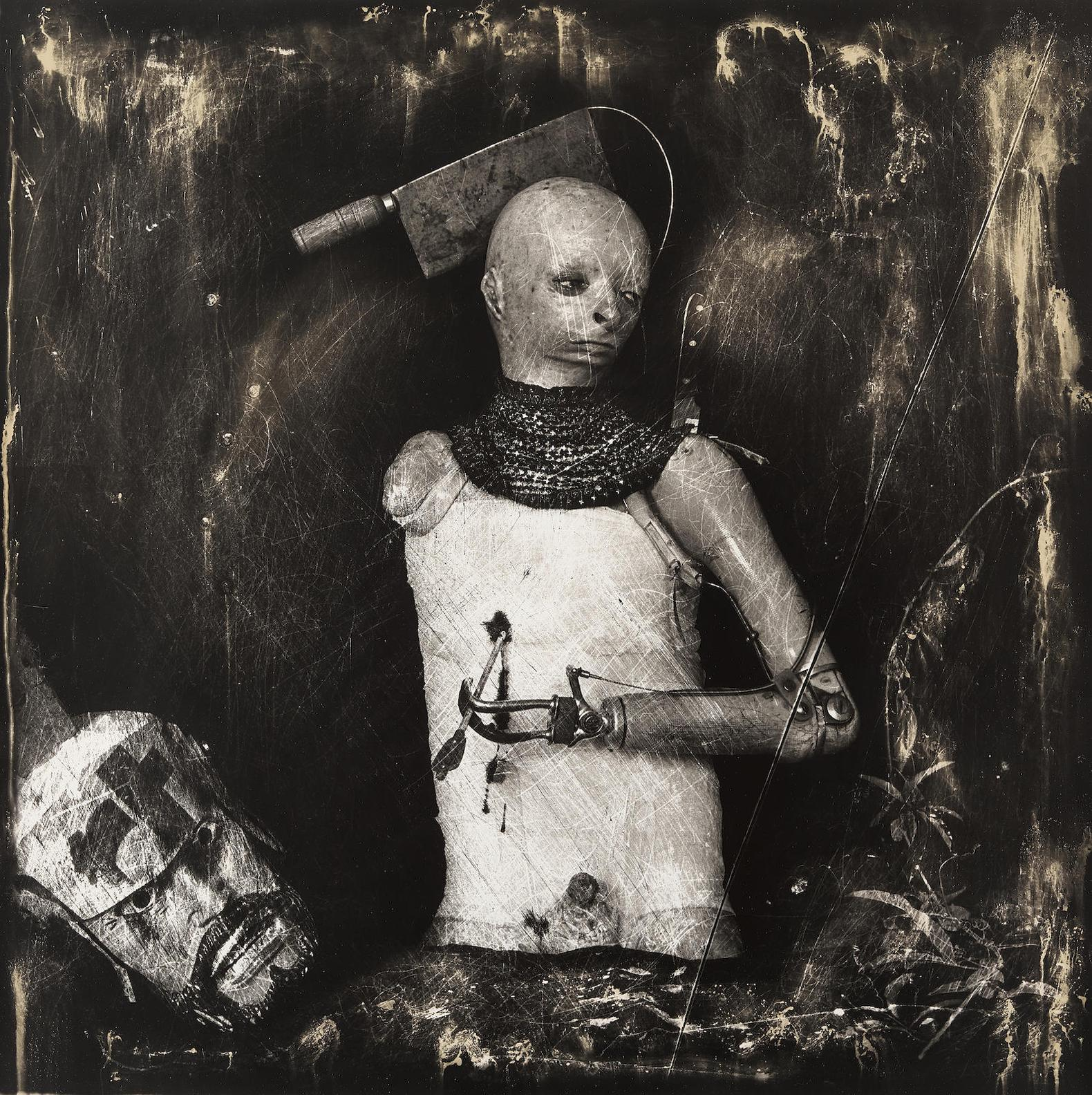 Joel-Peter Witkin-Un Santo Oscuro, Los Angeles-1987