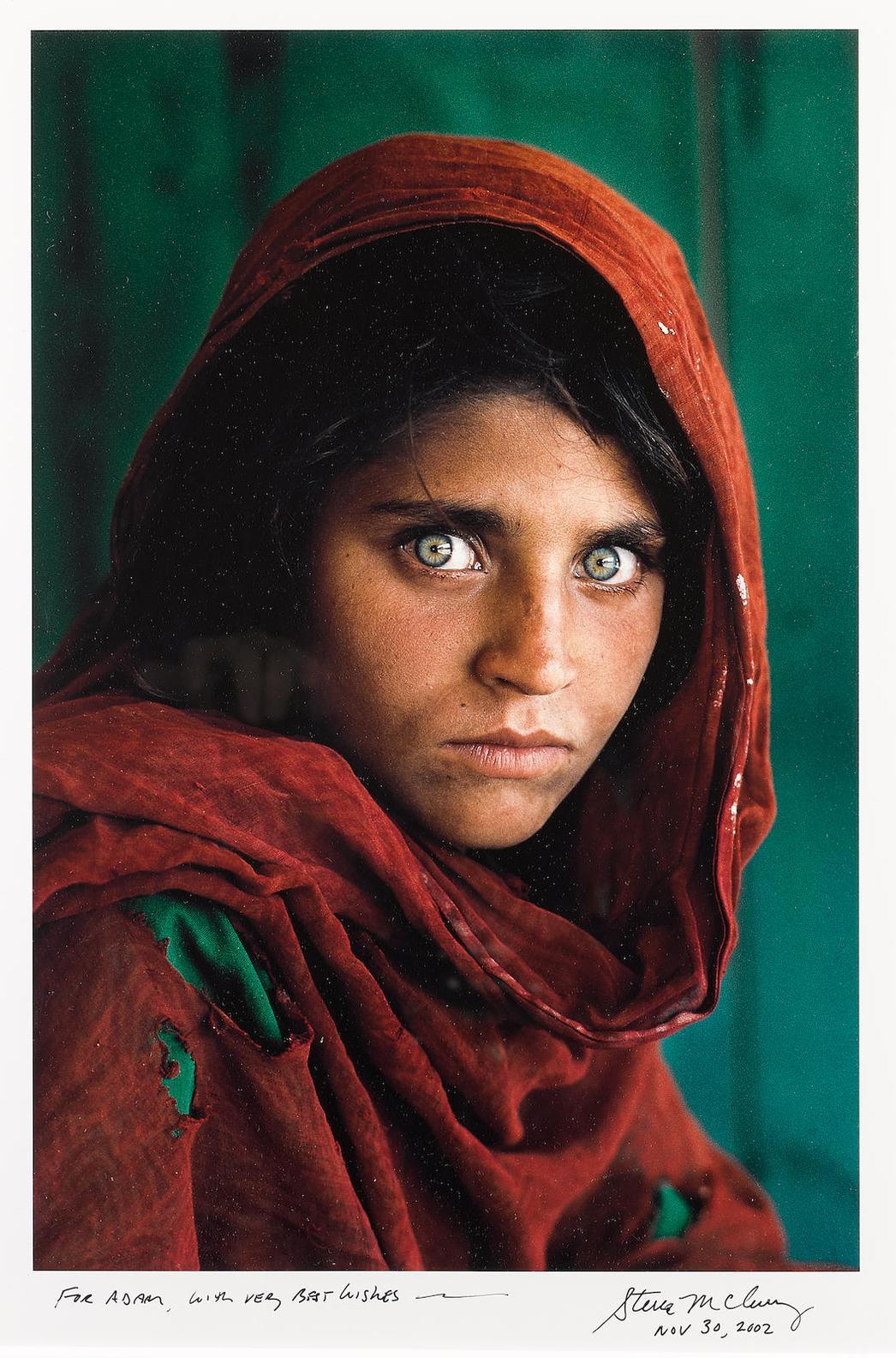 Steve McCurry-Sharbat Gula, Afghan Girl, Pakistan-1984
