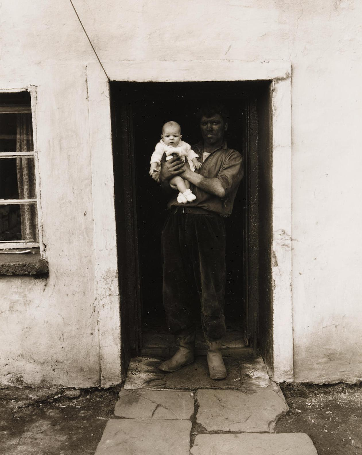 Bruce Davidson-Miner And Child, South Wales-1967