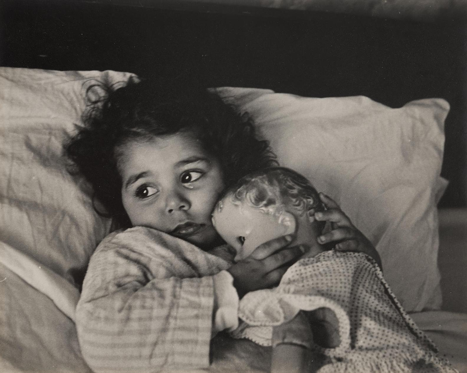 W. Eugene Smith-Juanita With Doll-1950