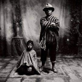 Irving Penn-Father And Son (Cuzco, Peru)-1948
