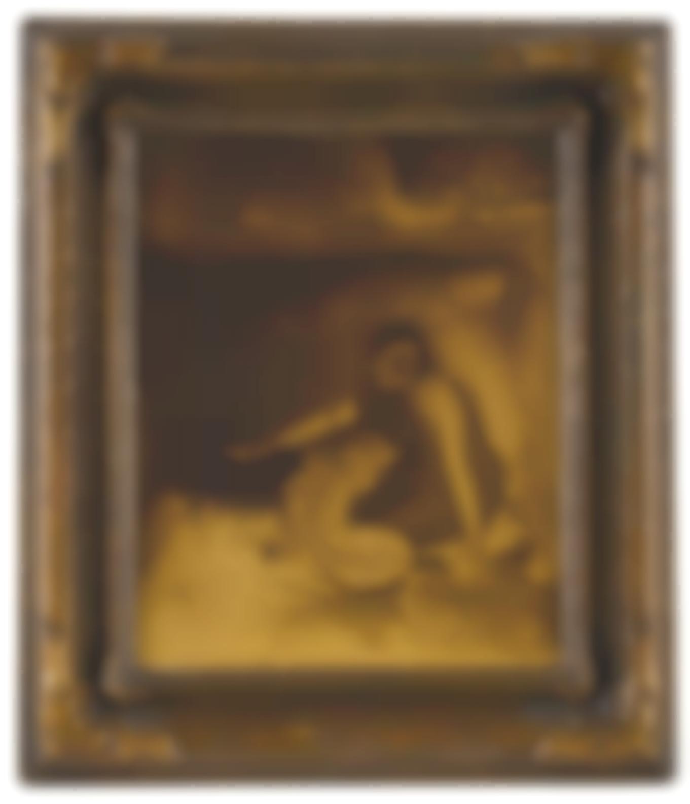 Edward S. Curtis-The Piki Maker-1906