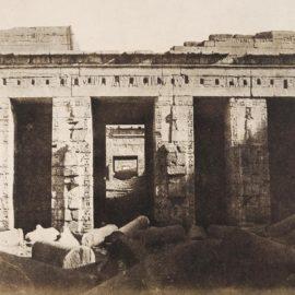 John Beasley Greene-Thebes, Medinet-Habu, Palais De Ramses-Meaimoun, 2Ieme Cour, Face Est-1854