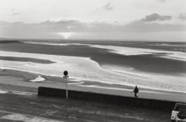 Henri Cartier-Bresson-Beach With Lone Figure-1969