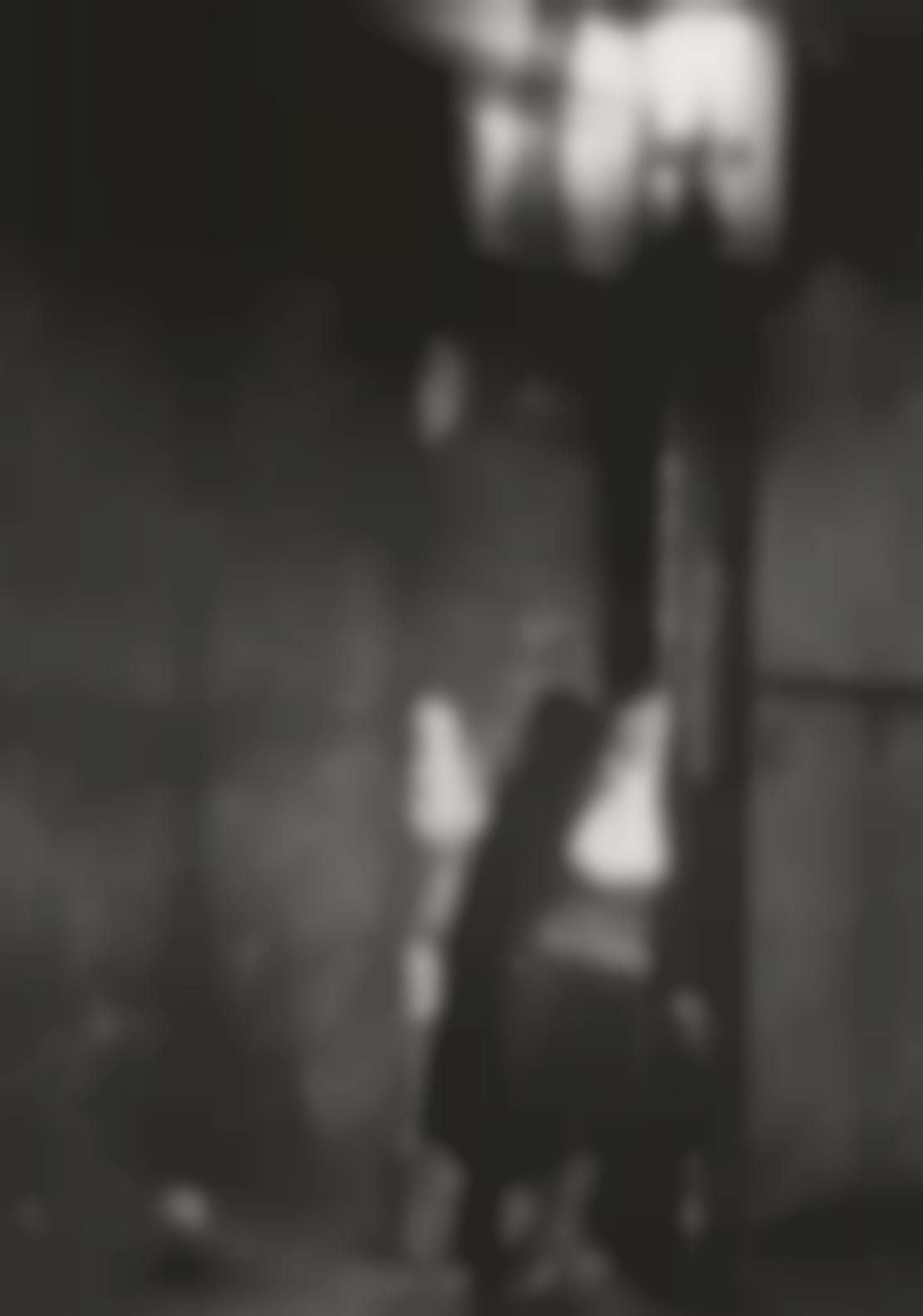 Brassai-Fille Adossee A Un Mur A Lecharpe Herminette-