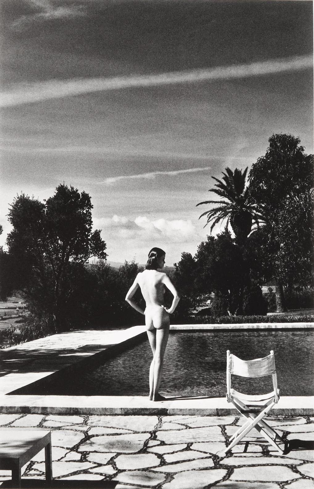 Helmut Newton-Lisa, St. Tropez-1975