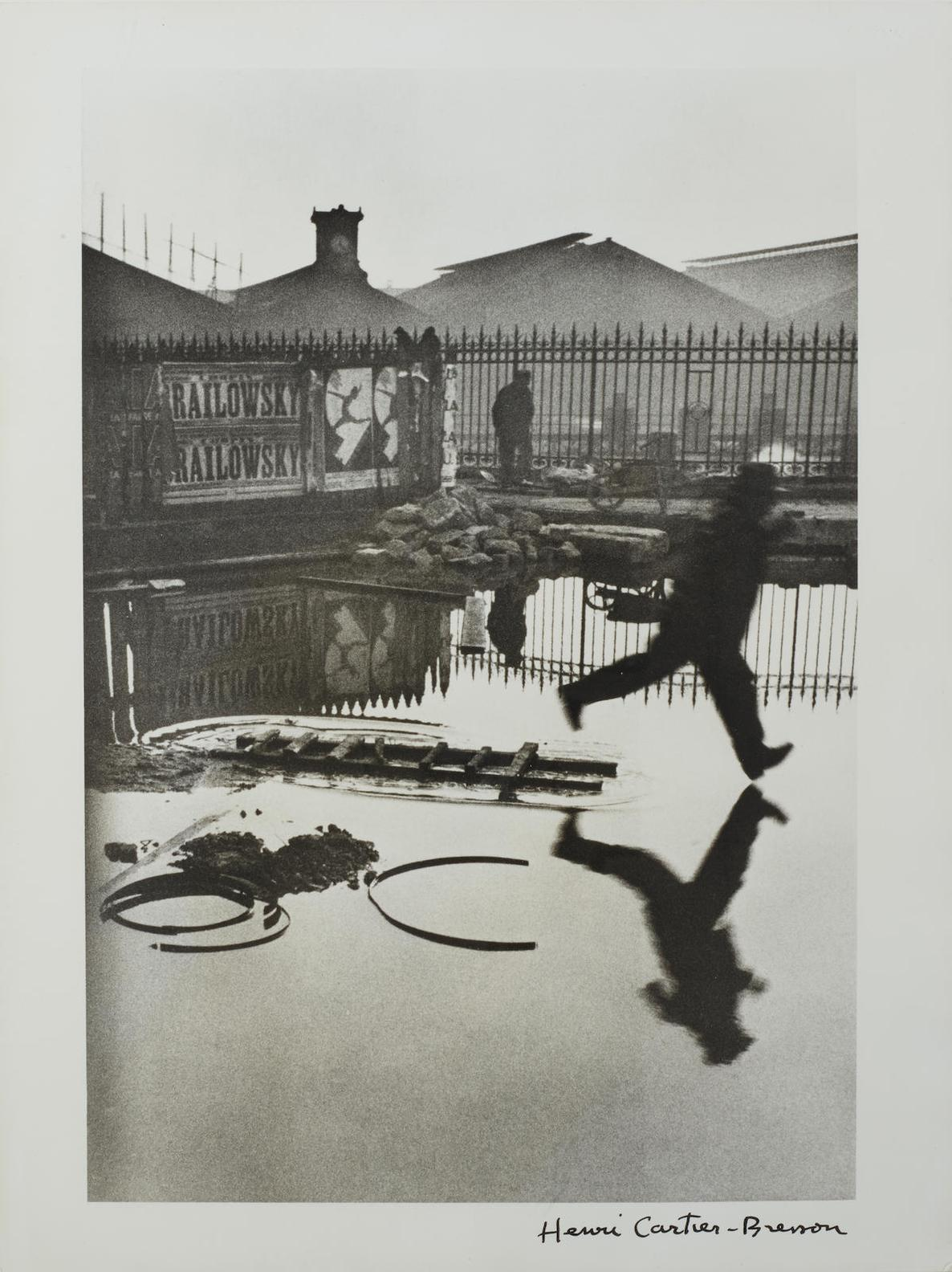 Henri Cartier-Bresson-Behind The Gare St.-Lazare-1932