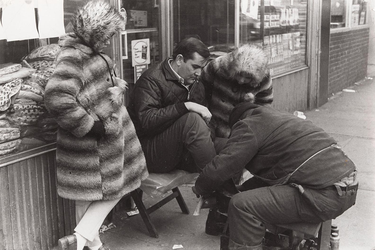 Louis Faurer-Selected Images Of Paris And New York, 1970s-