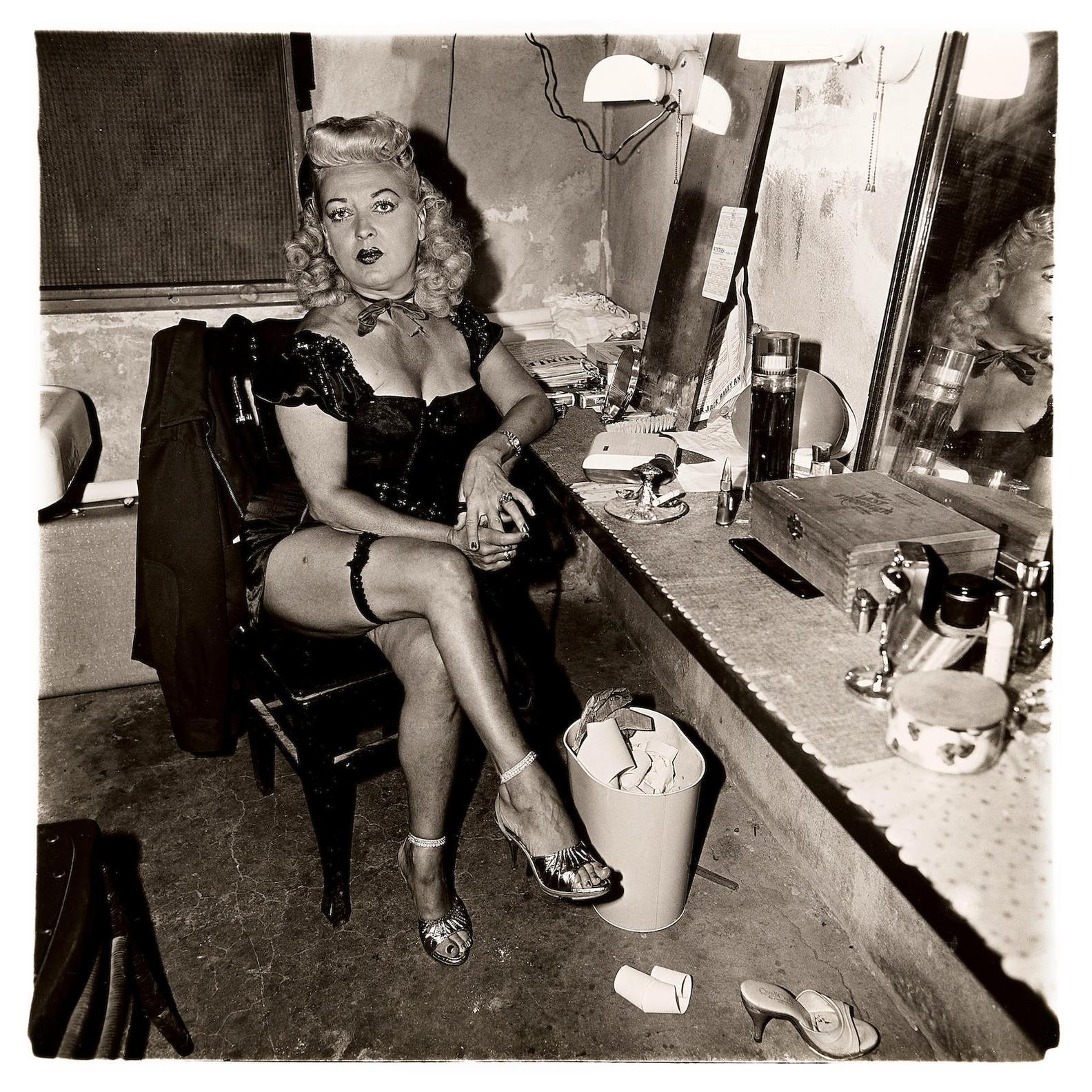 Diane Arbus-Burlesque Comedienne In Her Dressing Room, Atlantic City, NJ-1963