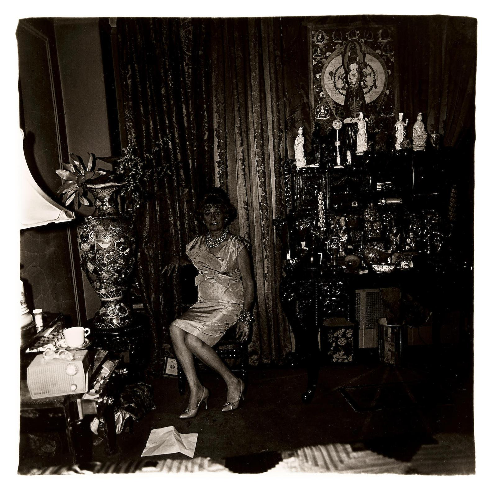 Diane Arbus-Widow In Her Bedroom, N.Y.C.-1963