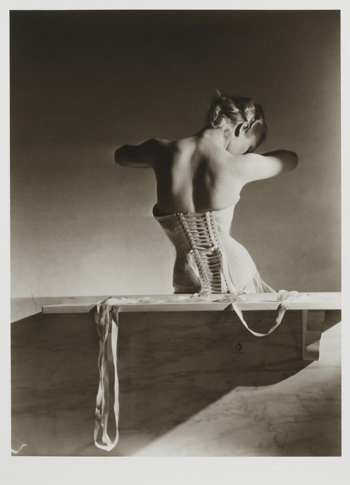 Horst P. Horst-Mainbocher Corset For French Vogue-1939