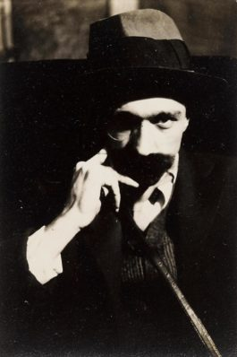 Walker Evans-Self Portrait With Mustache-1928