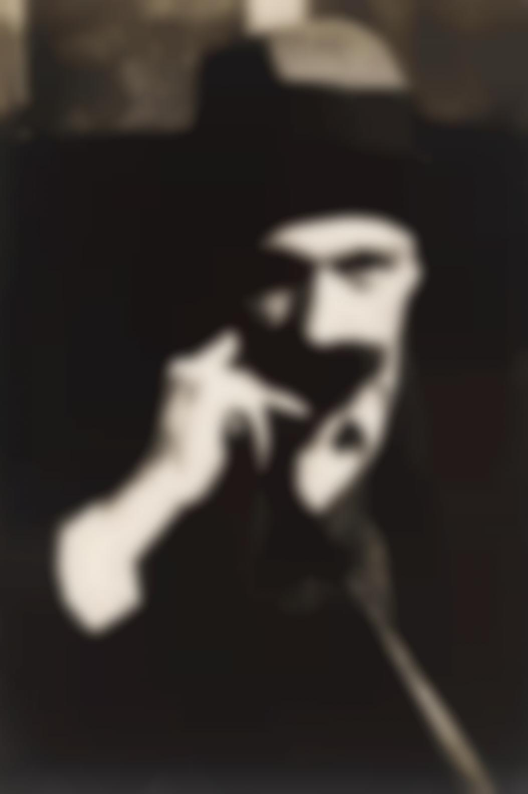 Walker Evans-Self Portrait With Mustache-1928
