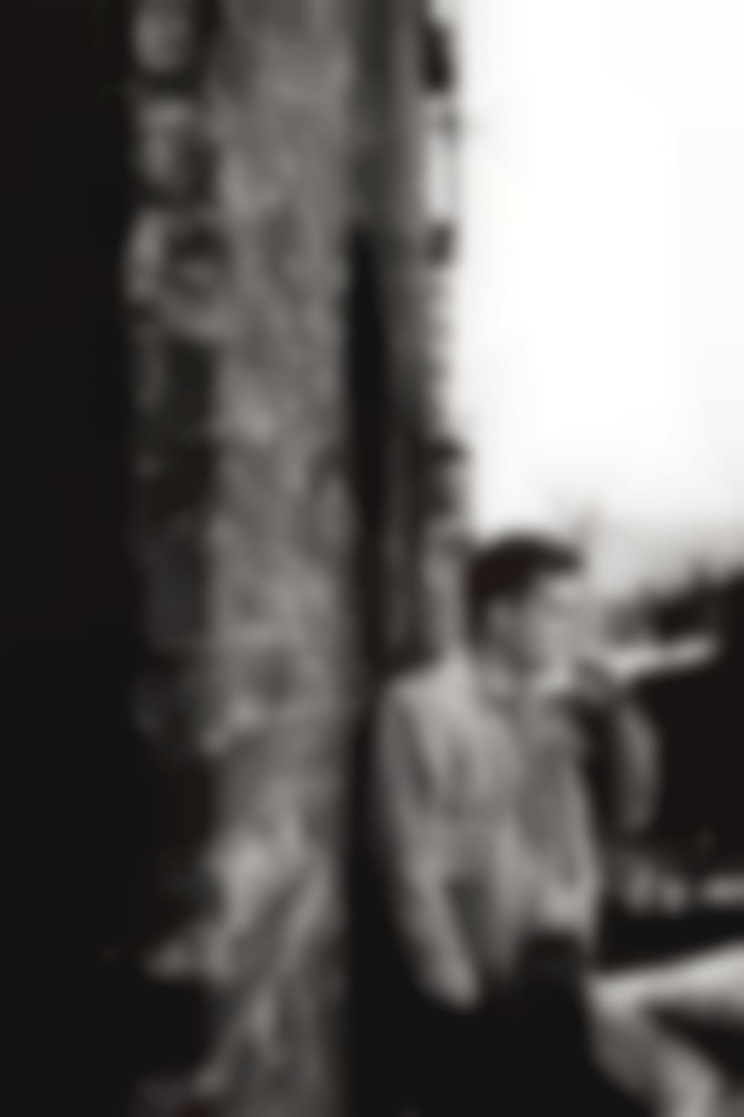 Allen Ginsberg - Jack Kerouac (Fire Escape, New York)-1953