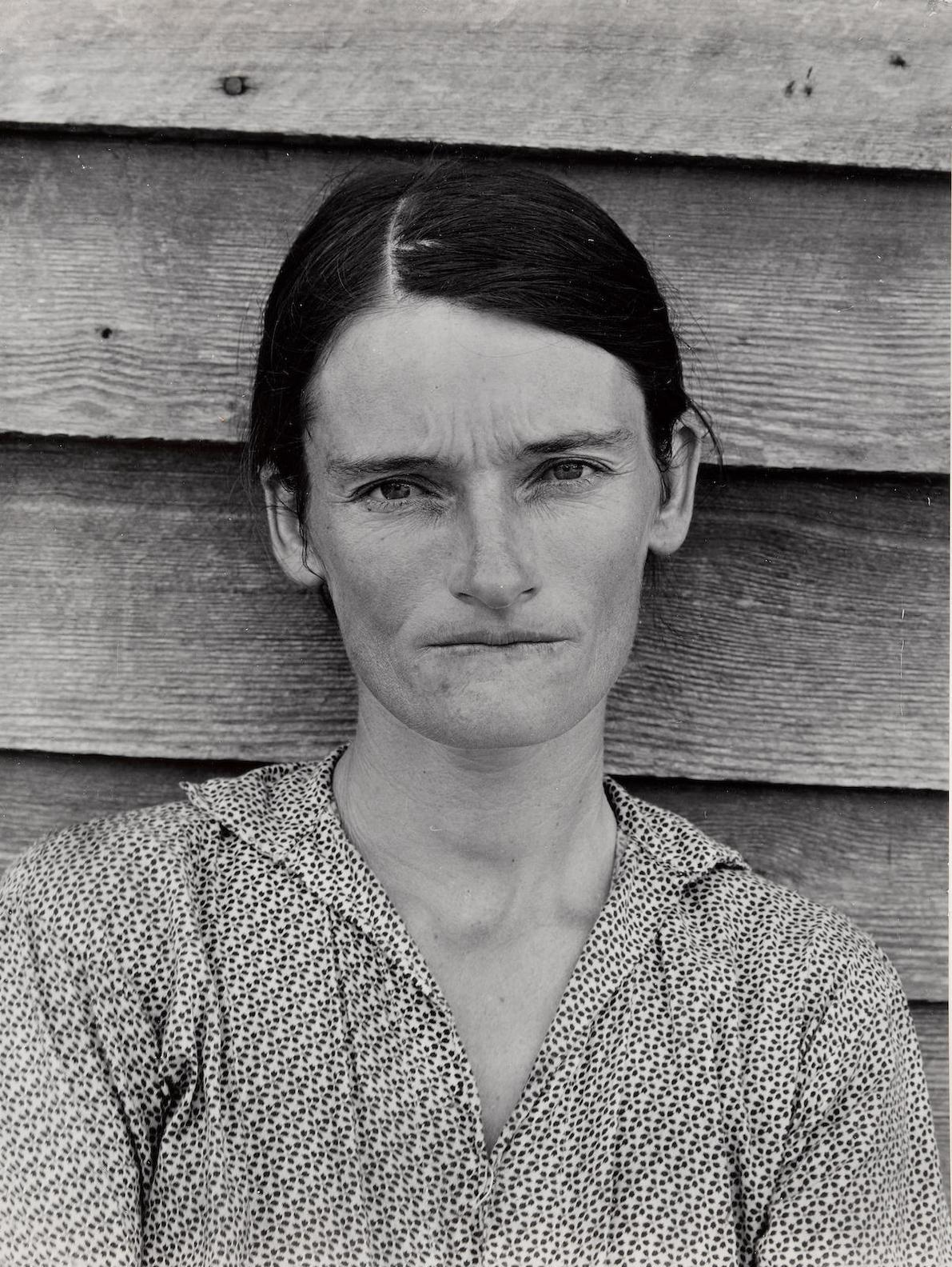Walker Evans-Alabama Cotton Tenant Farmers Wife (Allie Mae Burroughs)-1936
