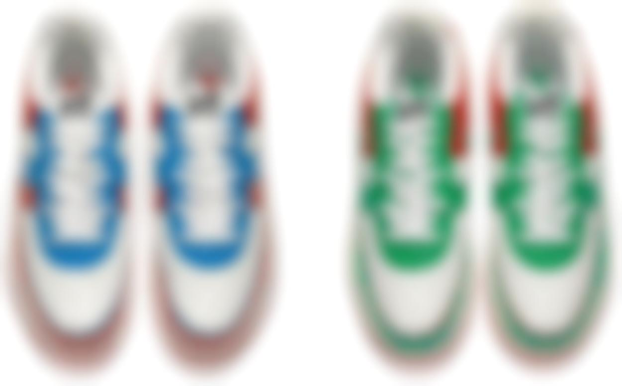 Bape X Kaws - Bapesta Fs-029 Kaws Chompers (I. White / Red; II. White / Green)-2006