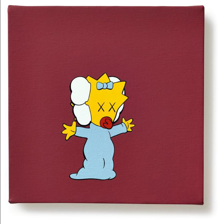 KAWS-Kimpsons Series-2005