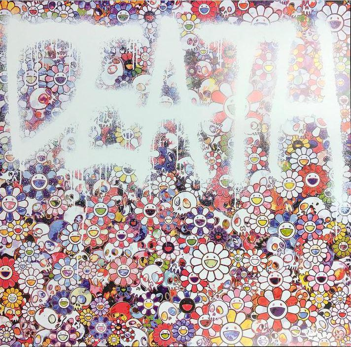 Takashi Murakami-Death Flower-
