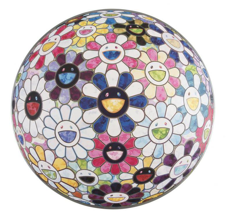Takashi Murakami-Right There, The Breadth Of The Human Heart-