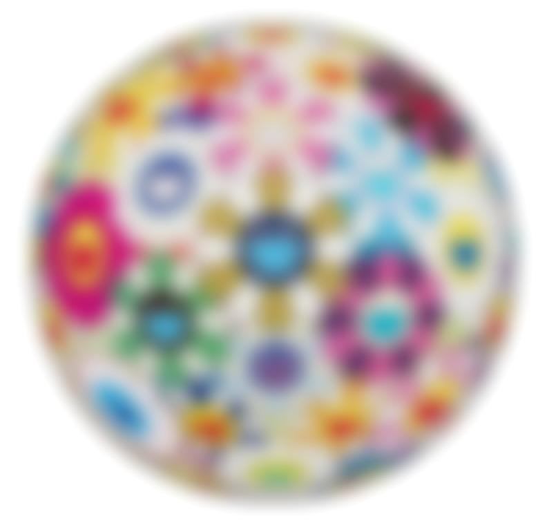 Takashi Murakami-Flower Ball (3-D) Autumn-2004