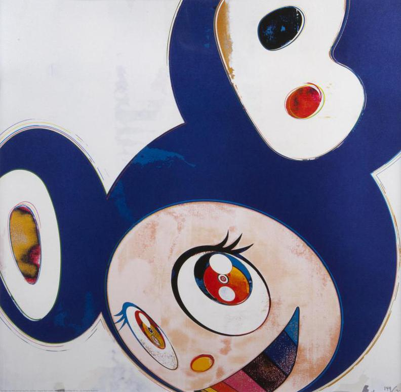 Takashi Murakami-And Then, And Then And Then And Then And Then / Original Blue-