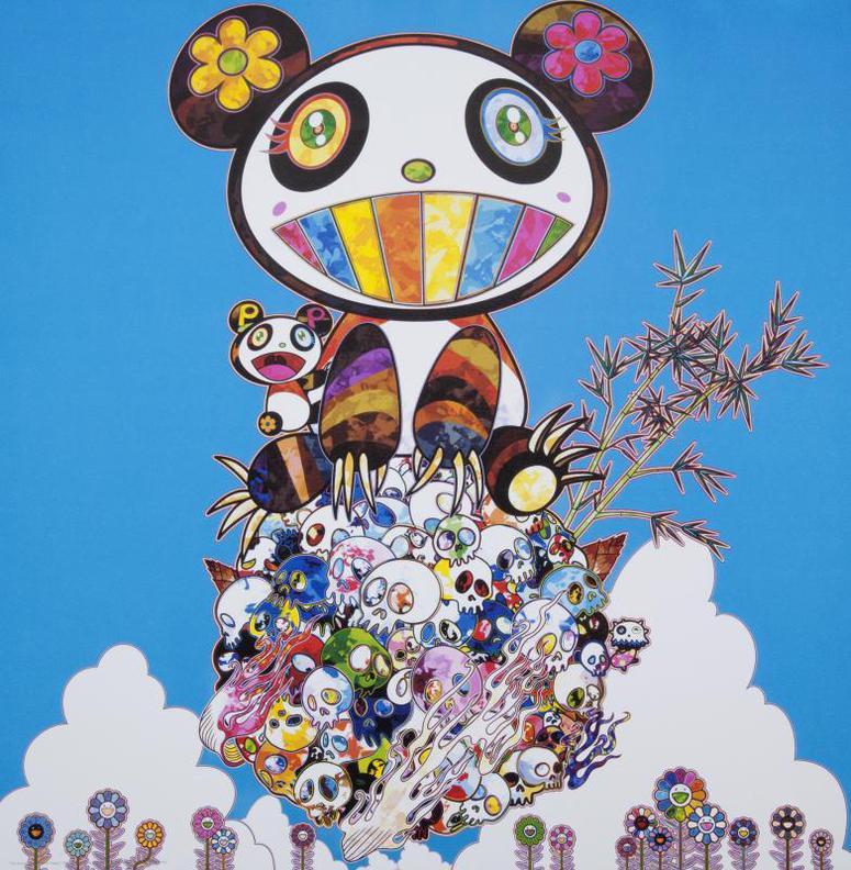 Takashi Murakami-The Pandas Say Theyre Happy-