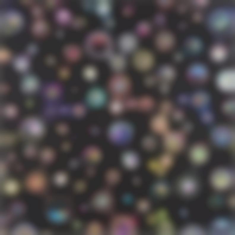 Takashi Murakami-Jellyfish Eyesblack 1; Black 2; Black 3; Black 5-