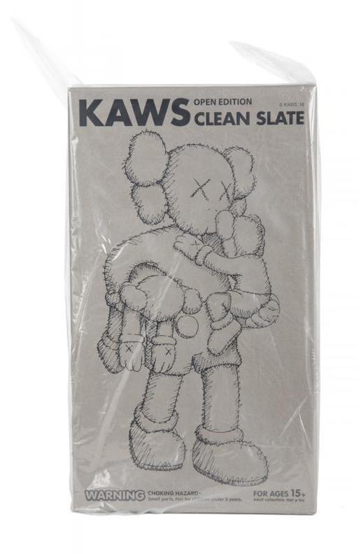 KAWS-Clean Slate (Brown)-2018