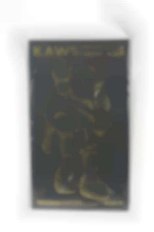 KAWS-Clean Slate (Black)-2018