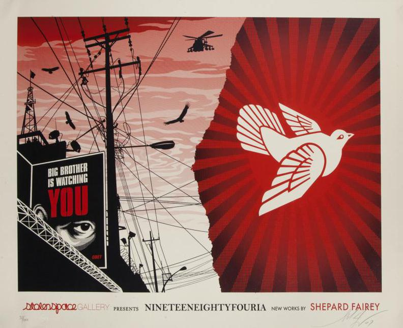 Shepard Fairey-Nineteeneightyfouria-2007
