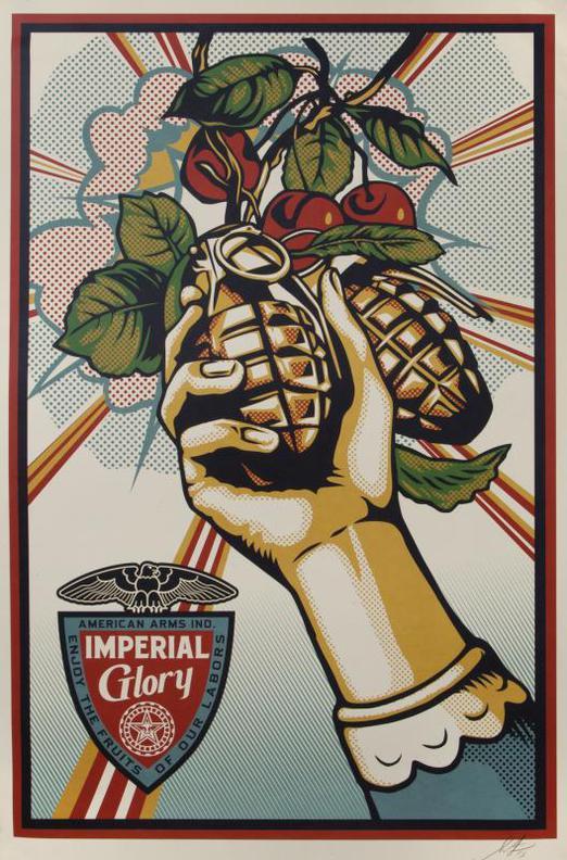 Shepard Fairey-Imperial Glory-2013